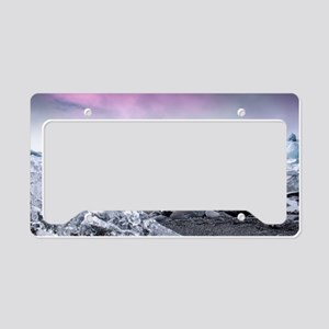 Glaciers of Iceland License Plate Holder