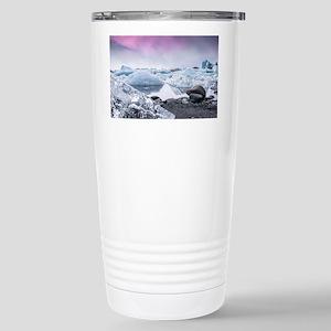 Glaciers of Iceland Stainless Steel Travel Mug