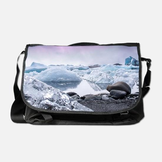 Glaciers of Iceland Messenger Bag