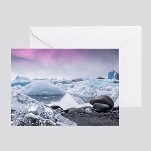 Glaciers of Iceland Greeting Card