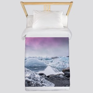 Glaciers of Iceland Twin Duvet