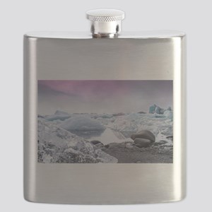 Glaciers of Iceland Flask