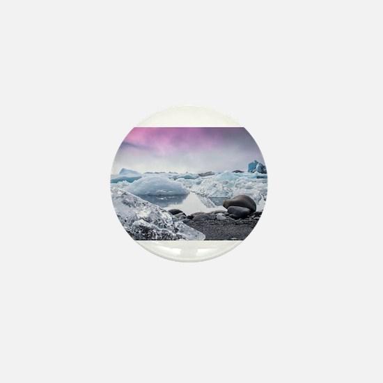 Glaciers of Iceland Mini Button