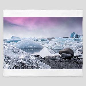 Glaciers of Iceland King Duvet