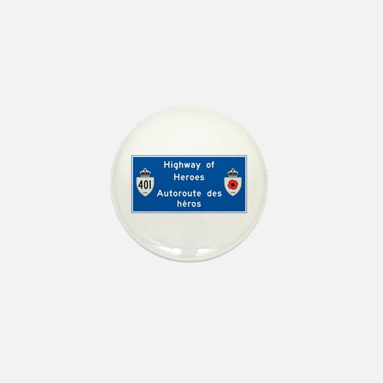 Highway of Heroes 410, Canada Mini Button