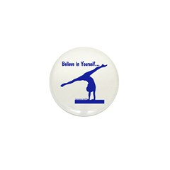 Gymnastics Buttons (100) - Believe