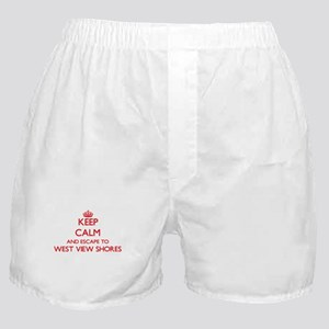 Keep calm and escape to West View Sho Boxer Shorts