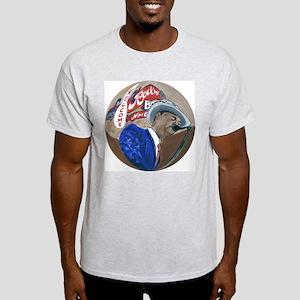 New Orleans Blues Ash Grey T-Shirt