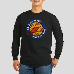 Suck Some Heads PInch Some Tai Long Sleeve T-Shirt