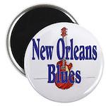 New Orleans Blues Magnet