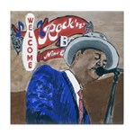 New Orleans Blues Tile Coaster