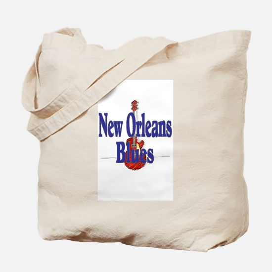 New Orleans Blues Tote Bag