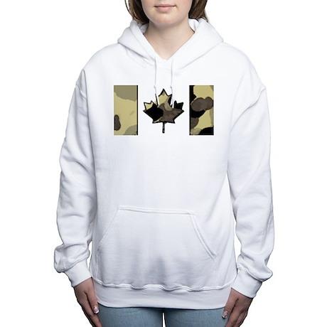 Canadian Flag Fall Desert Autumn Colors Sweatshirt