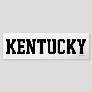 Kentucky - Jersey Vintage Bumper Sticker