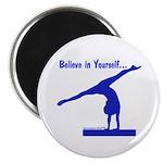 Gymnastics Magnet - Believe