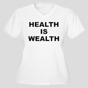 H.i.w. Women's V-Neck Plus Size T-Shirt