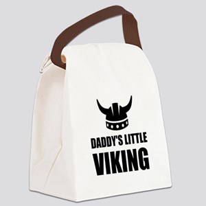 Daddy's Little Viking Canvas Lunch Bag
