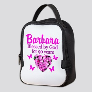 BLESSED 90TH Neoprene Lunch Bag