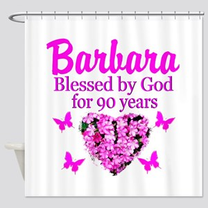 BLESSED 90TH Shower Curtain