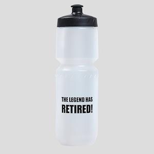 Legend Has Retired Sports Bottle