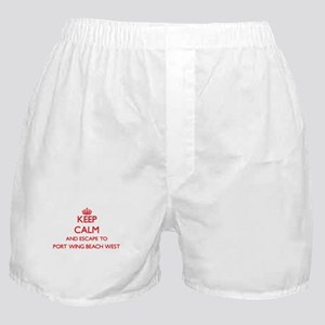 Keep calm and escape to Port Wing Bea Boxer Shorts