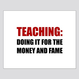 Teaching Money Fame Posters