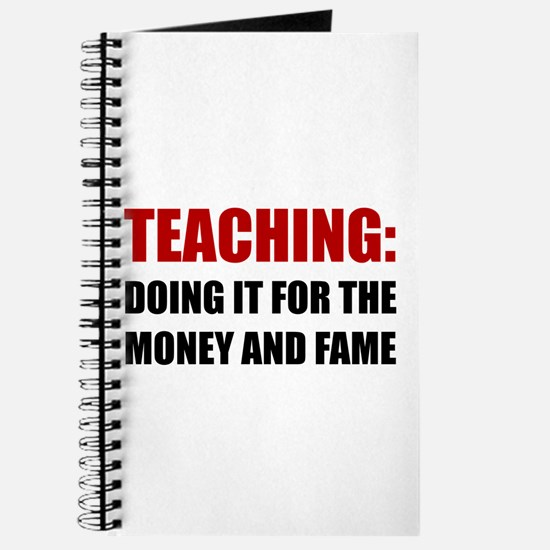 Teaching Money Fame Journal