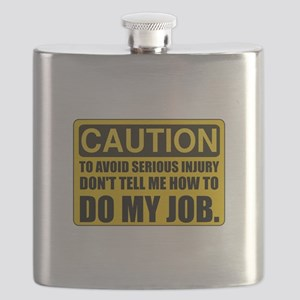 Tell Me How To Do My Job Flask
