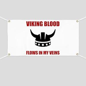 Viking Blood Banner