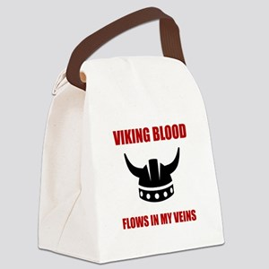 Viking Blood Canvas Lunch Bag