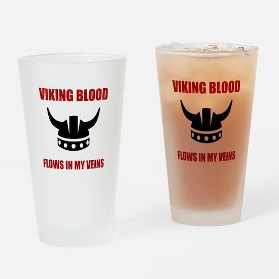 Viking Blood Drinking Glass