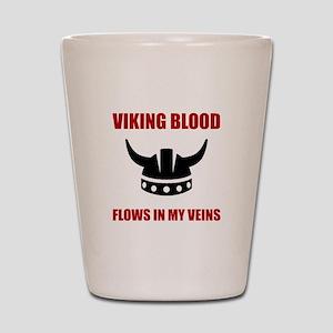 Viking Blood Shot Glass