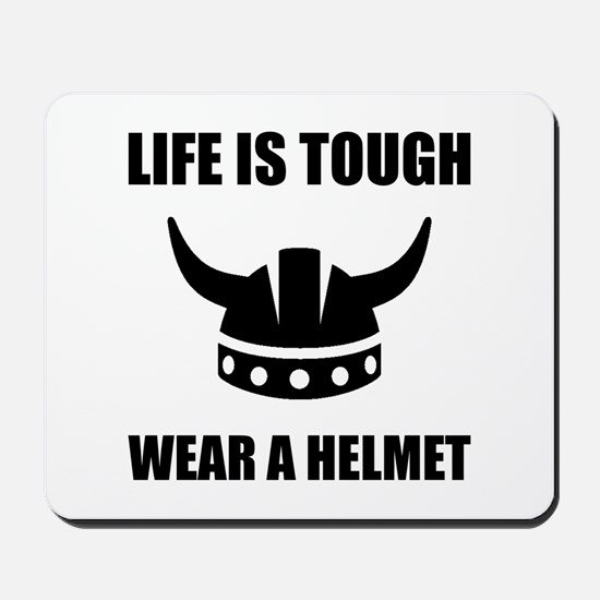 Viking Helmet Mousepad