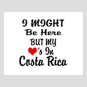 Heart in Costa Rico Small Poster