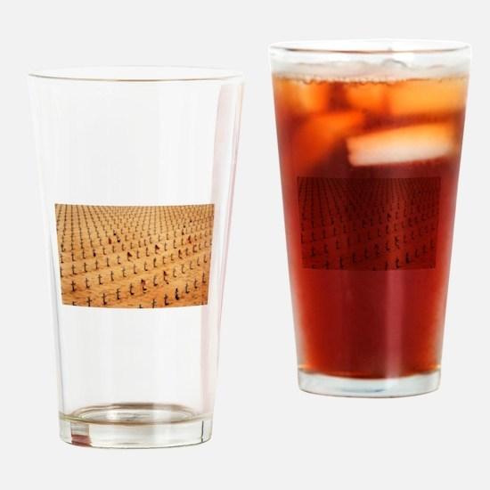 Finally Peace Drinking Glass