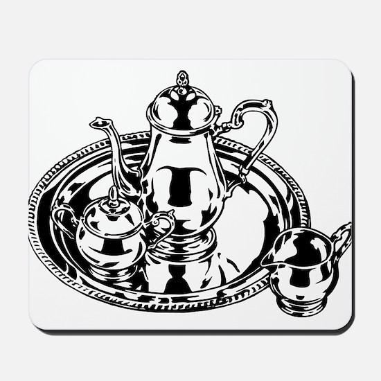 Tea set Mousepad