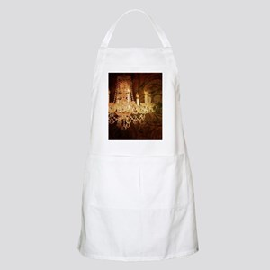 western country vintage chandelier Apron