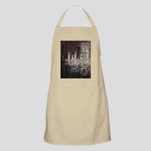 girly french country chandelier Apron