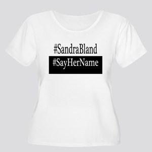 Sandra Bland Plus Size T-Shirt