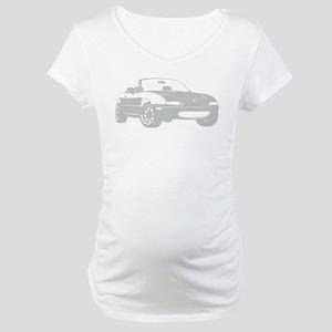 NA Silver Maternity T-Shirt