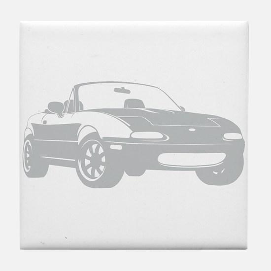 NA Silver Tile Coaster