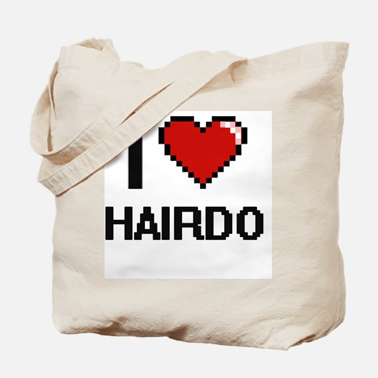 I love Hairdo Tote Bag