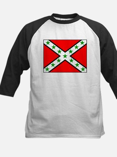Arab Rebel Flag Kids Baseball Jersey