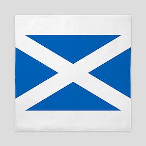 SCOTLAND FLAG Queen Duvet