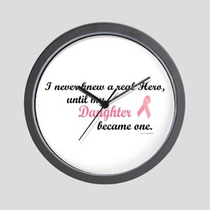 Never Knew A Hero (Daughter) Wall Clock