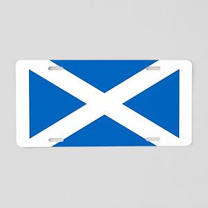 SCOTLAND FLAG Aluminum License Plate