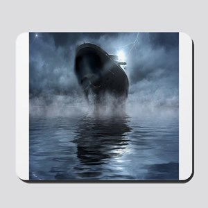Mystical Pirate Ship Mousepad
