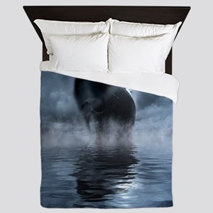 Mystical Pirate Ship Queen Duvet