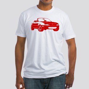 NA Red Fitted T-Shirt