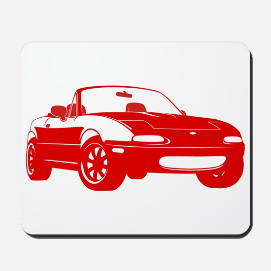 NA Red Mousepad